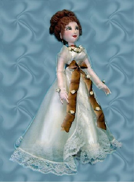 "Savannah -  25"" Fashion  Doll - Cloth Doll Sewing Pattern by Judi Ward"