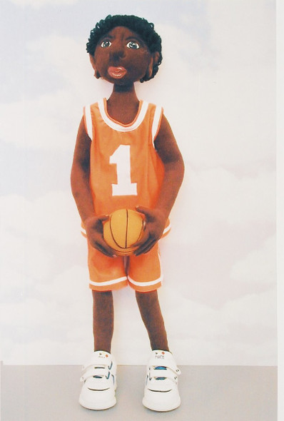 B.J. Your Favorite Basketball Player - Cloth Doll Sewing Pattern by Judi Ward