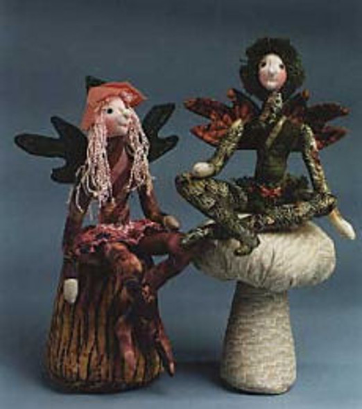 Blossom & Twig - Cloth Fairy Doll Sewing Pattern - Paper Mailed Pattern by Julie McCullough