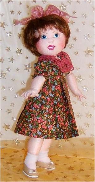 Little Bleuette in Cloth ~ Online Cloth Doll Class by Judi Ward