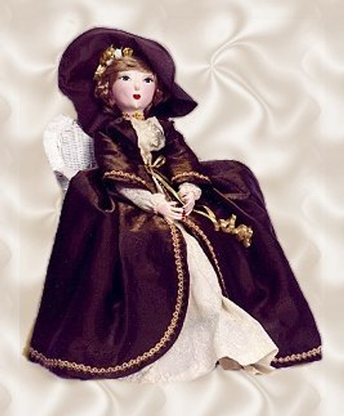 """Bed Doll - 30"""" Vintage Style Cloth Doll Sewing Pattern by Judi Ward"""