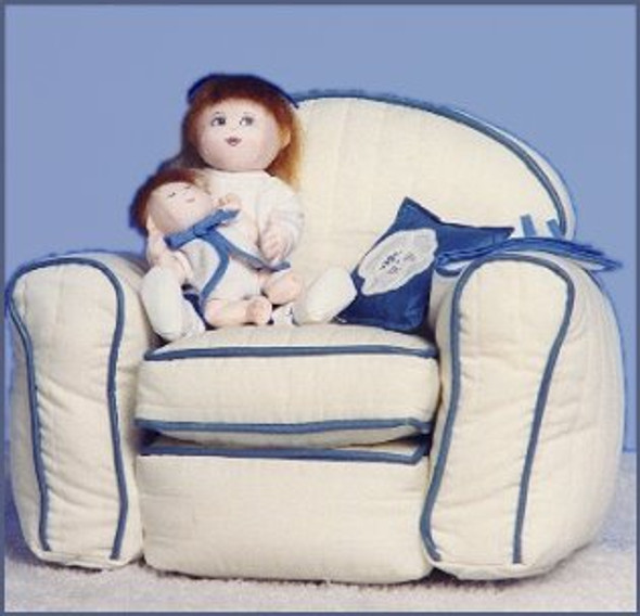 Grandma's Big Chair and/or Dolls - Cloth Doll and Sewing Patterns by Judi Ward
