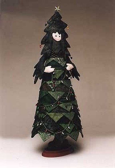 Oh Tannenbaum - Cloth Doll Sewing Pattern - Paper Mailed Pattern by Julie McCullough
