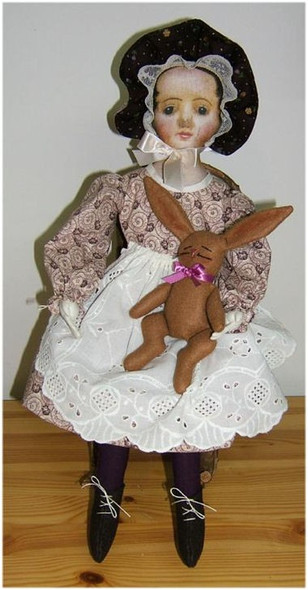 Prissy Prims  - Vintage Style Doll Sewing Pattern by Judi Ward