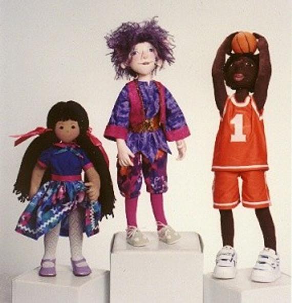 ADVANCED Cloth Doll Design Class by Judi Ward
