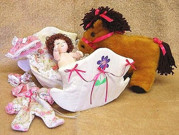 Little Sweetheart Sewing Pattern - Cloth Doll Sewing Patterns by Judi Ward