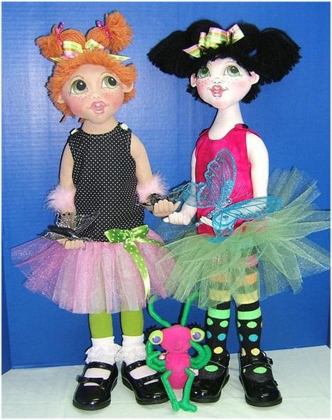 Bug - Cloth Children Doll Sewing Pattern by Judi Ward