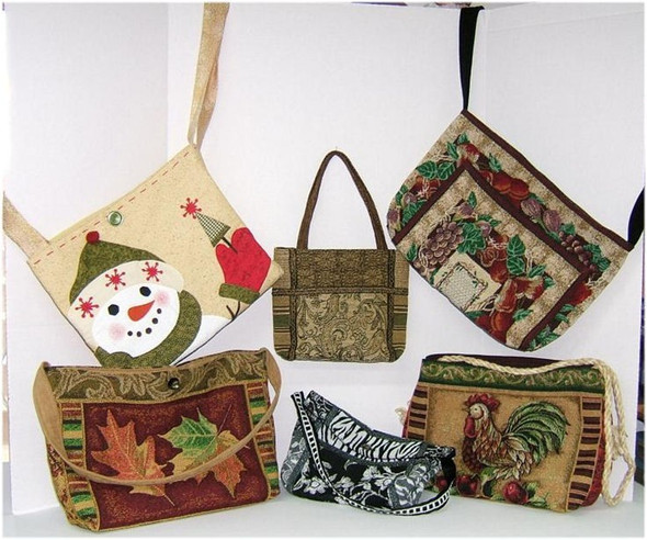 BAGS, PURSES AND TOTES - Fabric Sewing Pattern by Judi Ward