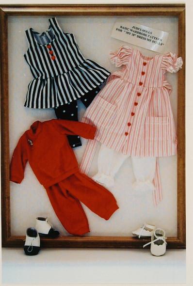 "18"" Dress Me Doll Wardrobe - Sewing Pattern by Judi Ward"