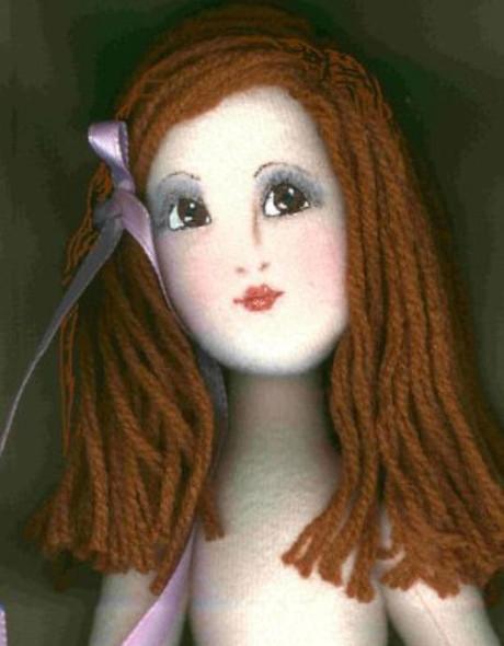 Doll Hair ~ PDF Download Class by Judi Ward