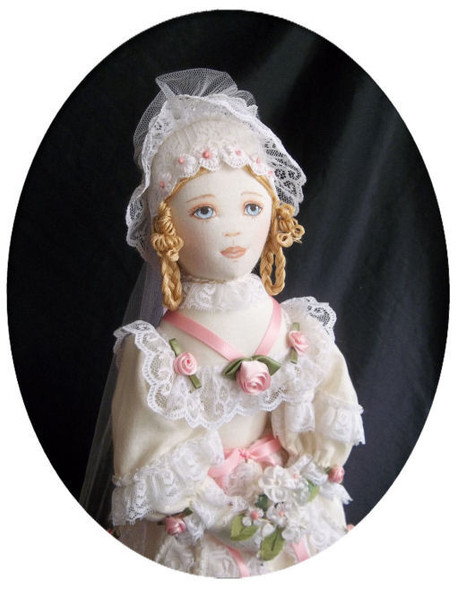 Josette, French Country Bride by Kezi - Cloth Doll