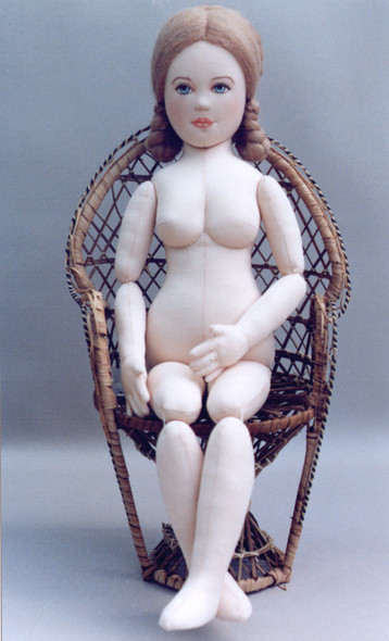 """""""Country Comfort"""" Doll Patten - Cloth"""