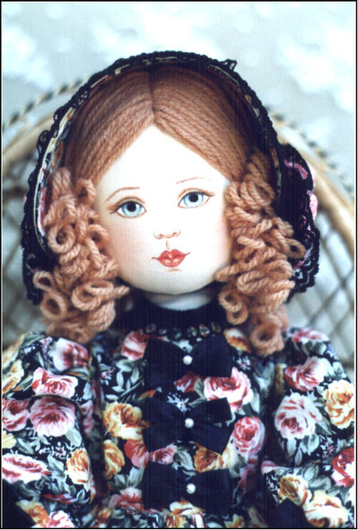 Janine by Kezi - Cloth Doll Pattern