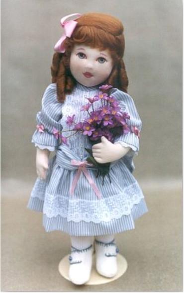 Ruthie by Kezi Cloth Doll Pattern