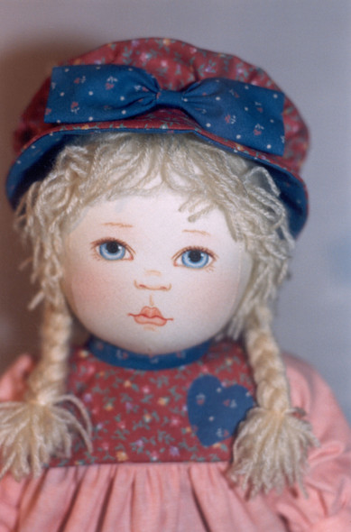 Elgarose and Miss Bunny by Kezi Cloth Doll Patterns