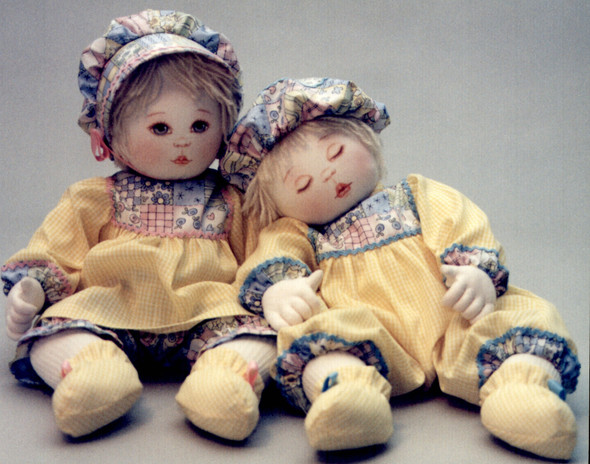 Bly & Colton by Kezi Cloth Doll Pattern