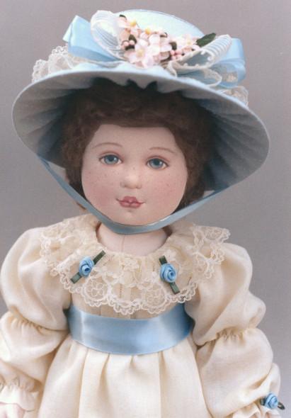 Millicent Cloth Doll Pattern by Kezi