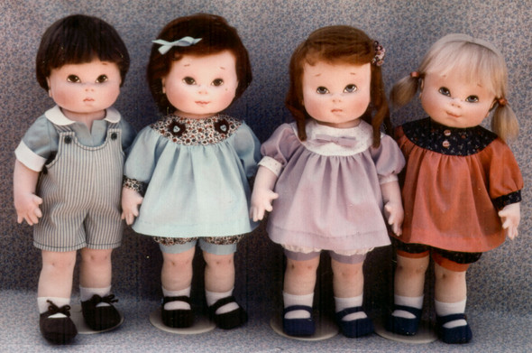 """Dear Ones"" Cloth Doll Patterns by Kezi Matthews"