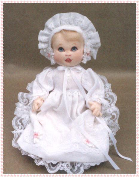 """Baby Anne"" by Kezi - Cloth Doll Pattern"