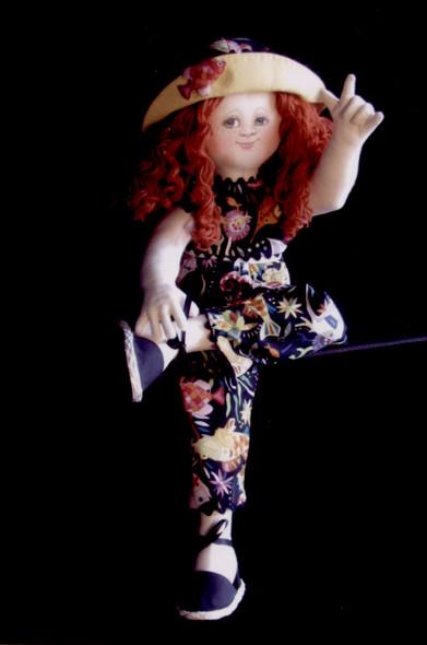 Alice, I Love You Cloth Doll Pattern by Arlene