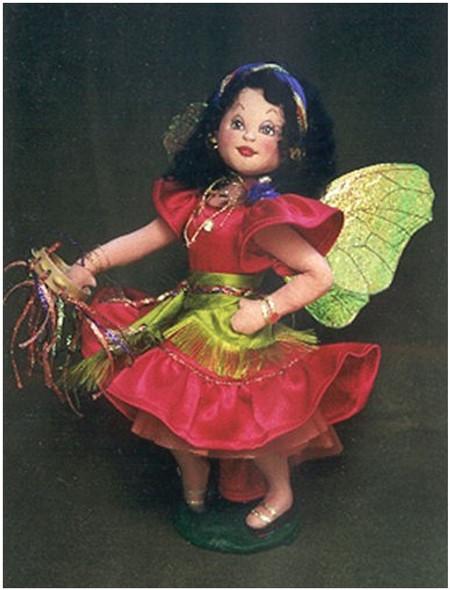 Coquetta , A Fairy Doll Pattern by Arlene