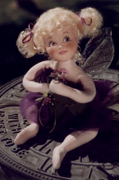 Viola, A Flower Fairy by Arlene
