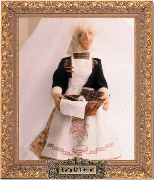 Lady Catherine - Cloth Doll PDF Download Class and Pattern