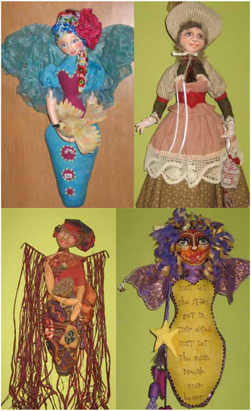 Treasure Keeper E-Pattern - Cloth Doll PDF Download Class and Pattern