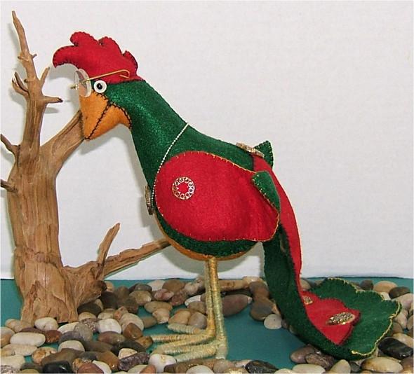 Helene Green - Silly BirdCloth Doll by Judy Ward!
