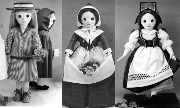 PENELOPE DOLL by Colette Wolff   - Cloth Doll Pattern
