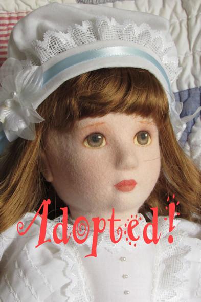 Emily - Original Felt Doll by Kezi Matthews