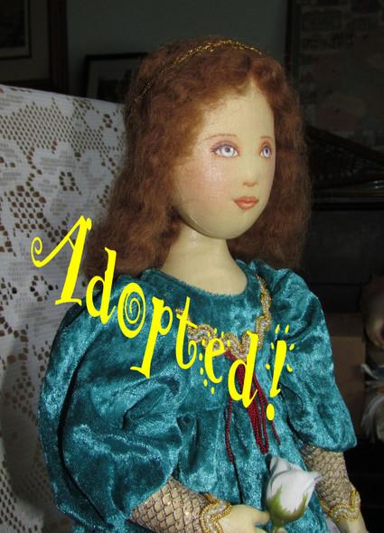 Renaissance Angel - OOAK Doll by Kezi Matthews