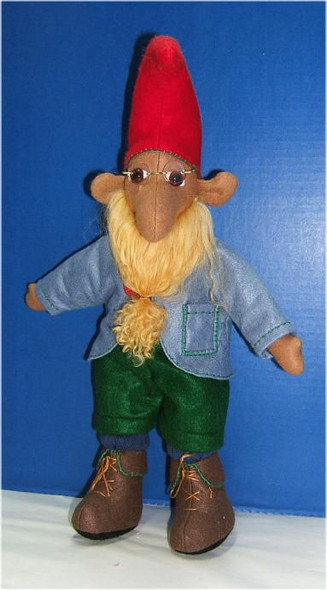 """Garth Elf...About 20"""" Wool Felt Doll by Judi Ward. Garth Elf... About 20""""... He is made from wool felt and dressed in felt...He is made from a pattern that was shared by doll club for a challenge. Sorry, I don't know the name of the pattern..."""