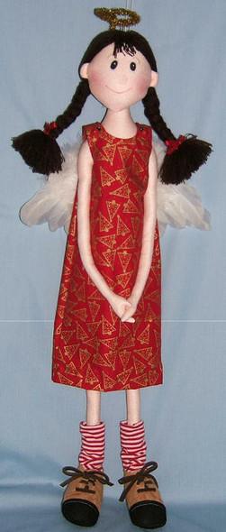 Napkin/Sisters Doll by Judi Ward - Free Cloth Doll Pattern