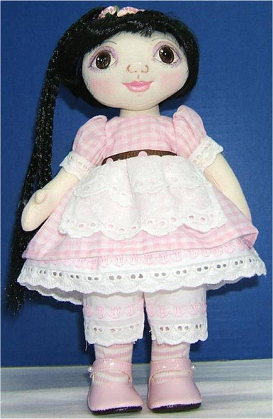 WIDE EYED WENDY and Tiny Doll - FREE Cloth Doll Patterns by Judi Ward