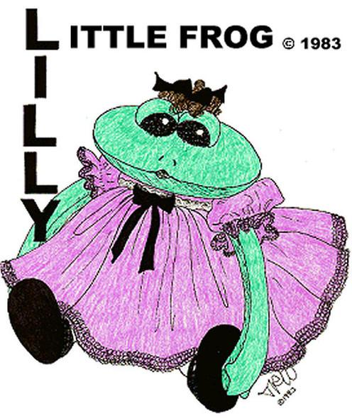 "LITTLE FROG ""LILLY"" - FREE Cloth Doll Pattern  by Judi Ward"