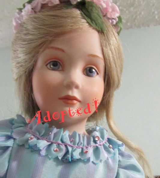 Ariel -  A Kezi Original Porcelain Doll.  Artist doll by Kezi Matthews