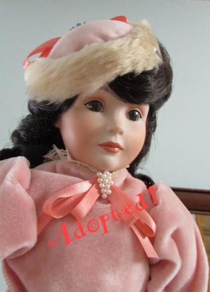 Adrienne -  A Kezi Original Porcelain Doll.  Artist doll by Kezi Matthews