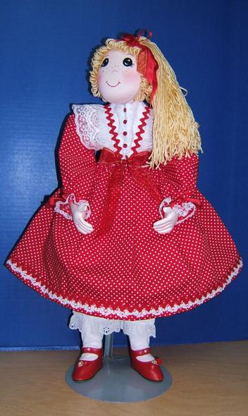 Noelle by Judi Ward - Cloth Doll