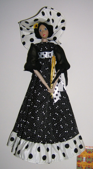 A lovely wall or bed Cloth Doll