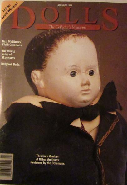 Dolls - January 1992