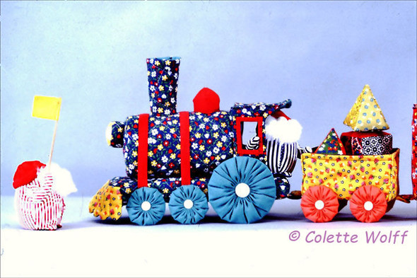 Cloth Train by Colette Wolff
