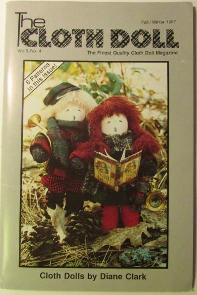 The Cloth Doll - Vol. 5  No. 4 - Fall/Winter 1987