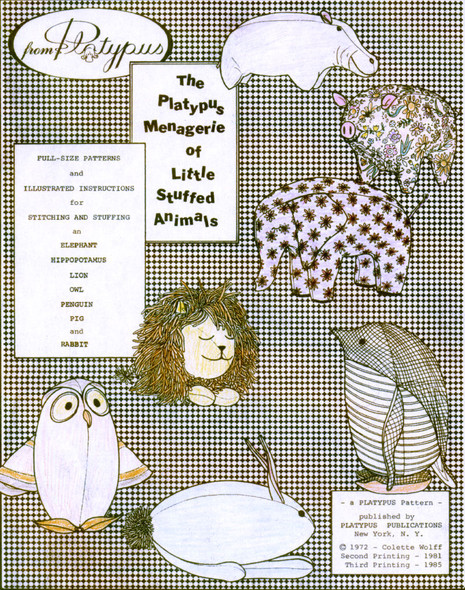 Little Stuffed Animals by Colette Wolff by Colette Wolff