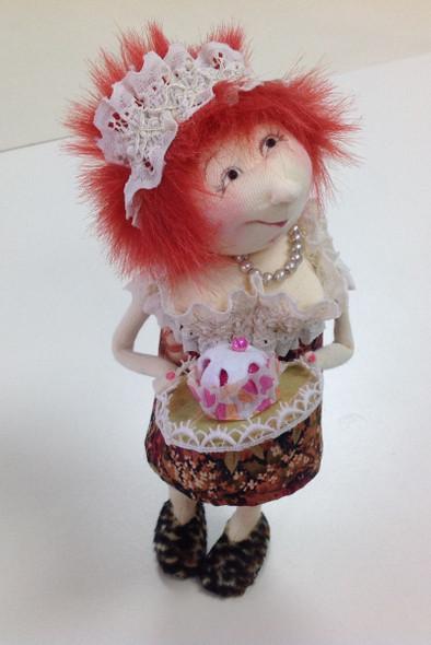 Cupcake Cindy - Cloth Doll Pattern by Jill Maas