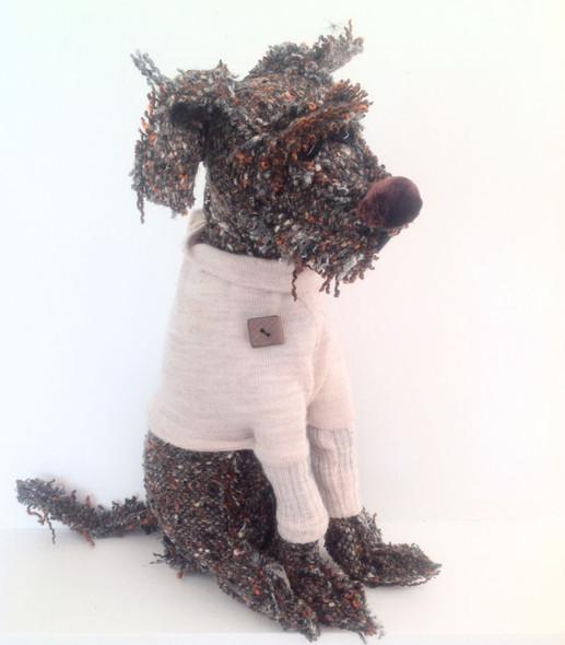 Douglas Dog - Cloth Doll Pattern by Jill Maas