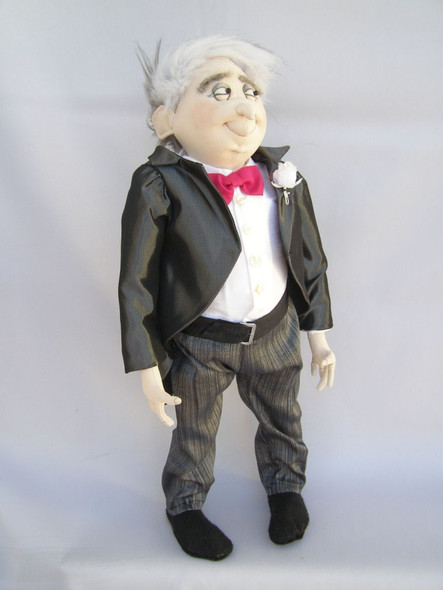 Father of the Bride - Cloth Doll Pattern by Jill Maas