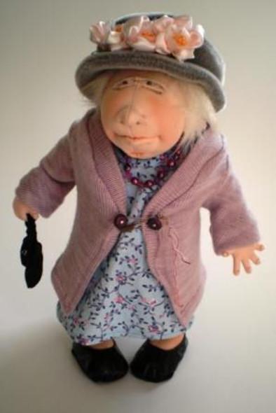 Frumpy Grumps - Cloth Doll Pattern by Jill Maas