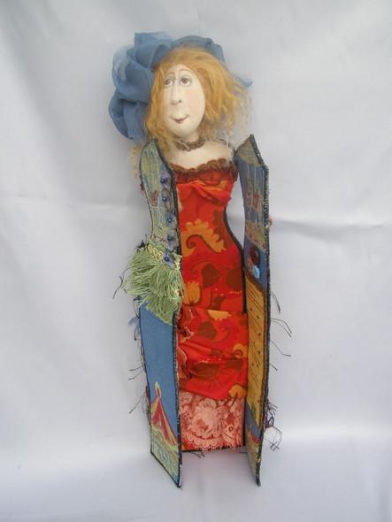 Kathleen - Cloth Doll Pattern by Jill Maas