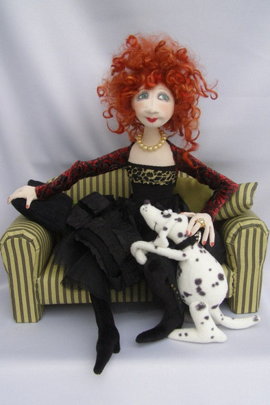 Lola and Nelson - Cloth Doll Pattern by Jill Maas
